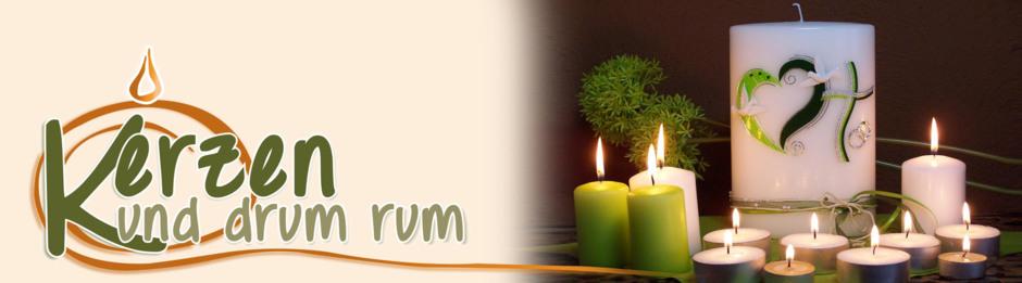Kerzen und drum rum